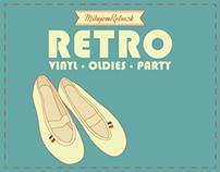 RETRO vinyl-oldies-party