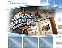 Fathom Interactive: Illustration and UI design