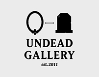 Undead Gallery — Identity design