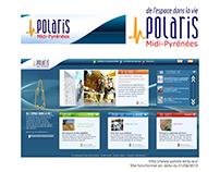 Borne interactive et site Web pour un musée (Polaris)