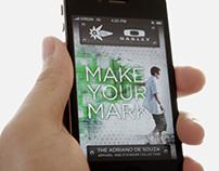 Oakley - Make Your Mark Mobile App