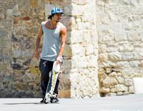 Brazilien Skater