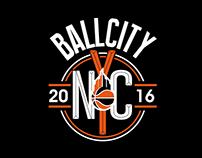 BALLCITY NYC logo