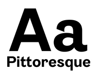 Pittoresque [Type Design] ( 2013-2014 )