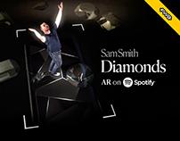 Sam Smith Diamonds AR on Spotify