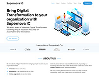 Supernova IC - Website 2020