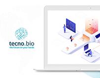 Tecno.bio TI - OnePage Responsive Website / Papelaria