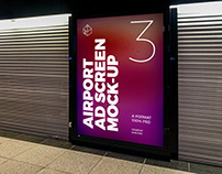 Airport Ad Screen Mock-Ups 11