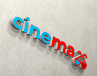 Development of corporate identity and logo for a cinema