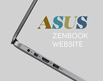 ASUS ZenBook Website