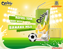 Shakarganj oolala flavored milk