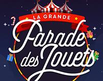 LA GRANDE PARADE DES JOUETS - U