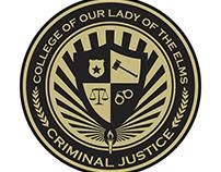 Criminal Justice Graduate Pin