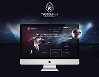 TipstersHub - web design