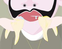 Der häßliche Kaiser (The Ugly Emperor) :: Illustration