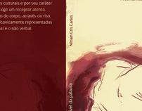 """Capa do Livro """" A pele palpável da palavra"""""""
