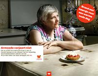 Armoede verjaart niet - petitie voor Welzijnszorg