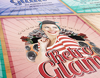 GraphicRiver - Retro Glam Party Flayer