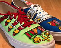 Sgt. Pepper's Lonely Hearts Club custom vans shoes