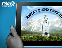 the world's deepest website - case study