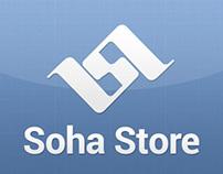 Soha Store - Mobile Website  Interface