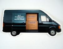 Volkswagen LT 'Slide Door' mailpack