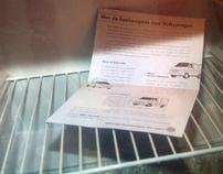 Volkswagen 'refrigerator' mailpack