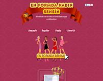 En Formda Kadın Facebook App