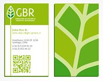 Identidad Corporativa // Tarjetas de presentación