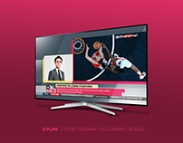 B PLANI | SPORT PROGRAM GRAPHIC PACKAGE