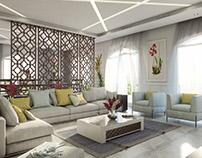 Living And Dinning interior design