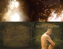 Silver Swans digipak design