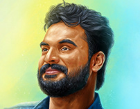 Tovino Thomas | Portrait Digital Painting