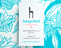 Hungerford Interior Design Branding & Stationary