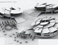 In Between EARTH + SKY [1st Yr Architecture - '08]
