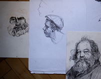 Sketches and drawings
