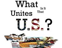 What is it that Unites U.S.? (Booklet Design)