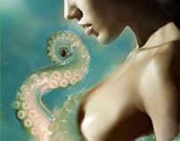 ***SOLD!***Undersea Seduction eBook Cover - $50