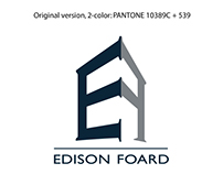 logo development for Edison Foard