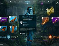 Avatar Inventory UI - Concept