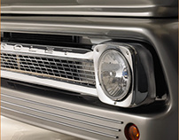 CHEVROLET C10 PRO STREET by Mike Siemers