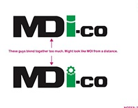 MDI.co - logo design