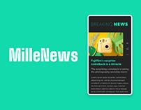 MilleNews - Website & App