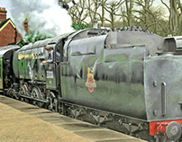 Bullied Q1 at Horsted Keynes - Gouache Painting