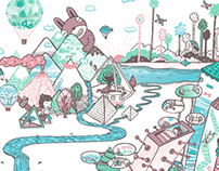 My imaginary lands