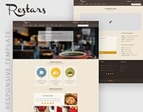 RESTARS - Responsive restaurant template