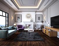 LIVING ROOM - INTERIOR DESIGN -