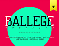 BALLEGE Typeface