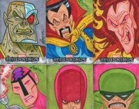Marvel Beginnings Series 2 Sketch Cards
