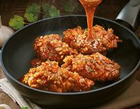 KFC Hot & Saucy Chicken